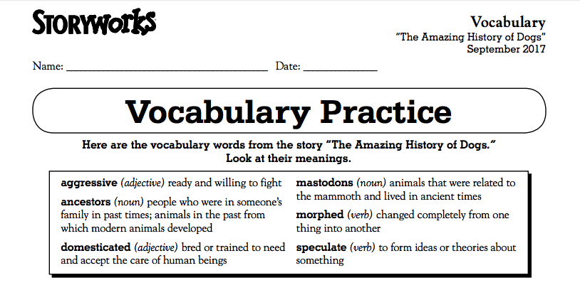 a4e9ba4dc7a This page (below) AND your vocabulary sheet (above) are both due  TOMORROW..make sure you have a copy of them with you! I put extra copies in  the front of ...